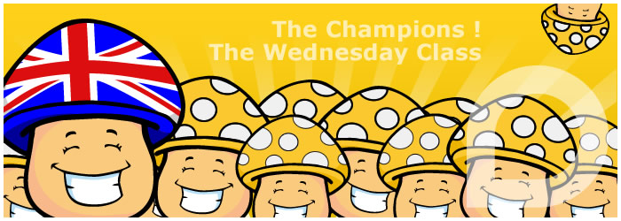 Picture of the-champions-the-wednesday-class !
